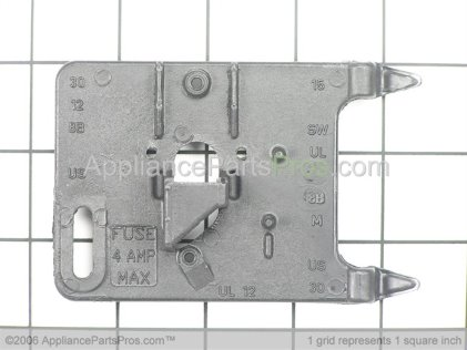 Whirlpool Bracket, Switch & Fuse 22001678 from AppliancePartsPros.com