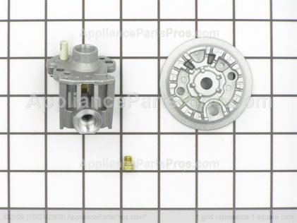 Whirlpool Burner Assembly, Right Front 814512 from AppliancePartsPros.com