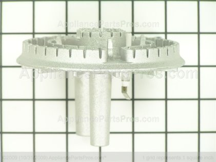 Whirlpool Burner Asy (dual) 74011652 from AppliancePartsPros.com