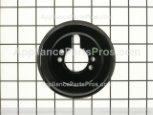 Burner Bezel, Right Rear (black)