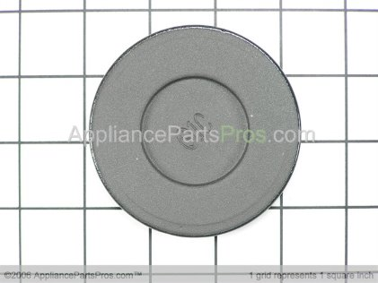 Whirlpool Burner Cap (black) 3191734 from AppliancePartsPros.com