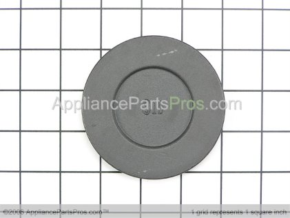 Whirlpool Burner Cap (black) 3192489 from AppliancePartsPros.com