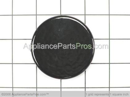 Whirlpool Burner Cap (black)-Small 8053466 from AppliancePartsPros.com