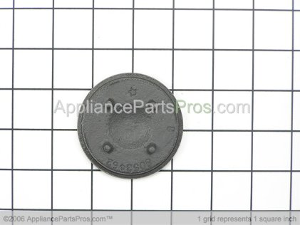 Whirlpool Burner Cap (grey)-Small 8053468 from AppliancePartsPros.com