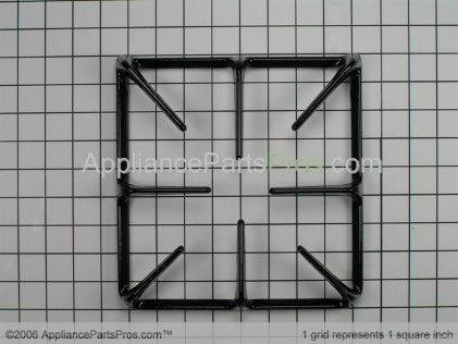 Whirlpool Burner Grate 74001769 from AppliancePartsPros.com