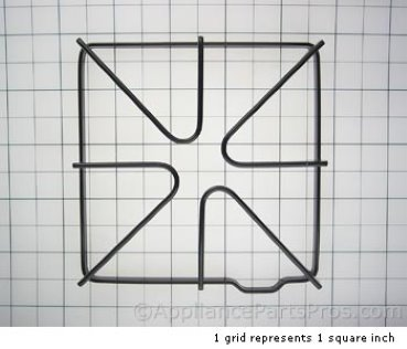 Whirlpool Burner Grate 816723 from AppliancePartsPros.com