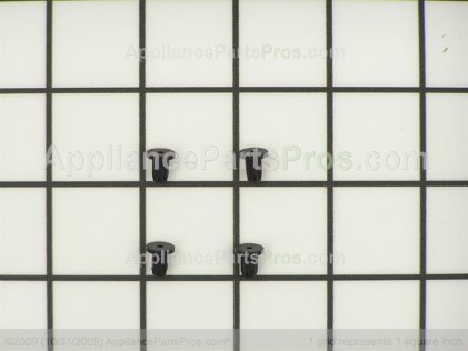 Whirlpool Burner Grate Foot Pad Kit 814465 from AppliancePartsPros.com