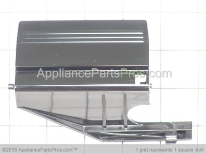 Whirlpool Button-Door Black 51001041 from AppliancePartsPros.com