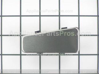 Whirlpool Button (stainless Steel) 8205571 from AppliancePartsPros.com