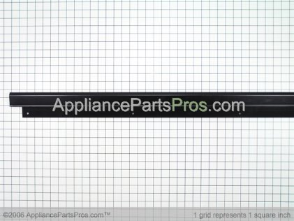 Whirlpool Cabinet Trim (left Side) (black) 2222553B from AppliancePartsPros.com