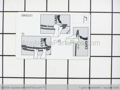 Whirlpool Card, Handle Release 67003876 from AppliancePartsPros.com