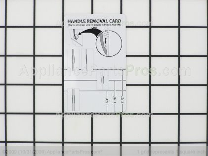 Whirlpool Card, Handle Release 67007028 from AppliancePartsPros.com