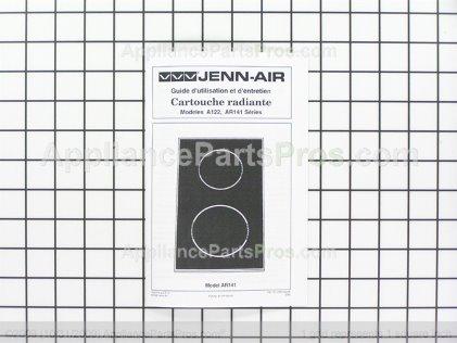 Whirlpool Cartridge Radiant Ja Blk Designer Line A122BA from AppliancePartsPros.com