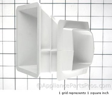 Whirlpool Chute, Ice 2156146 from AppliancePartsPros.com