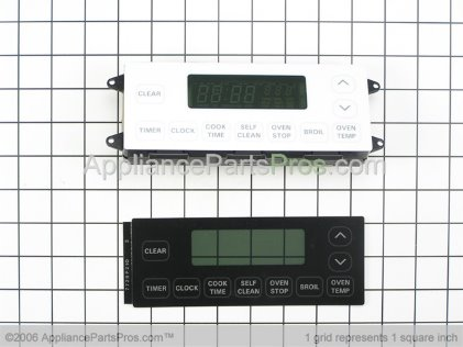 Whirlpool Clock Assembly 12001607 from AppliancePartsPros.com