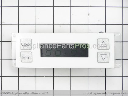 Whirlpool Clock, W/user Instruction (wht) 12001710 from AppliancePartsPros.com