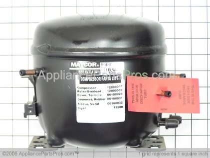 Whirlpool Compressor 4387521 from AppliancePartsPros.com
