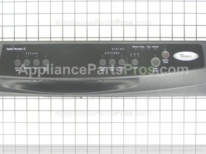 Whirlpool Wpw10142945 Control Panel Appliancepartspros Com
