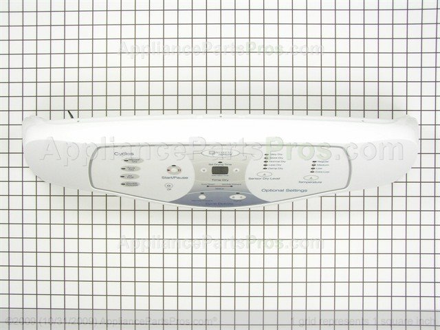 Whirlpool 33002896 Console Membrane Wht