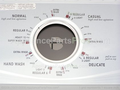 Whirlpool Console W10093750 from AppliancePartsPros.com