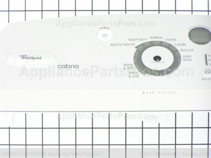 Whirlpool Console W10118483 from AppliancePartsPros.com