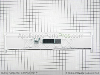 Whirlpool Control Panel and Touch Pad Assembly (white Model) 4451340 from AppliancePartsPros.com