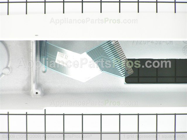 Whirlpool 74005740 Control Panel Assembly Wht