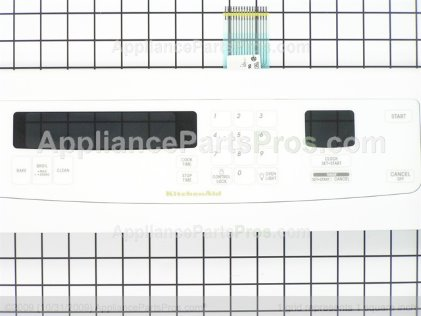 Whirlpool Control Panel Assy. W/membrane Switch (white Model) 8300398 from AppliancePartsPros.com