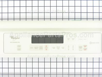 Whirlpool Control Panel Assy. W/membrane Switch (biscuit Model) 8300516 from AppliancePartsPros.com