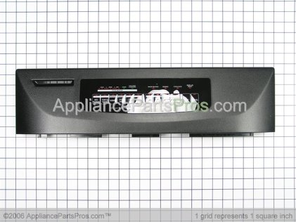 Whirlpool Control Panel, Black 9744112 from AppliancePartsPros.com