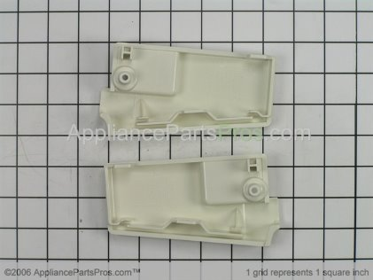 Whirlpool Control Panel Endcap Kit (biscuit) 814559 from AppliancePartsPros.com