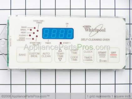 Whirlpool Control, Range (biscuit) 6610323 from AppliancePartsPros.com