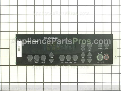Whirlpool Control, Range (black) 8524255 from AppliancePartsPros.com