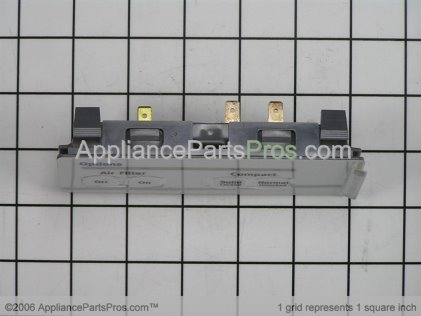 Whirlpool Control Switch Assembly 9871766 from AppliancePartsPros.com