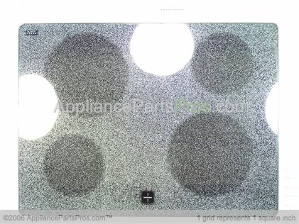 Whirlpool Cooktop 5706X361-81 from AppliancePartsPros.com