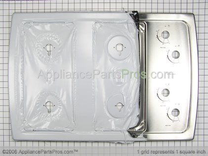 Whirlpool Cooktop W10157843 from AppliancePartsPros.com