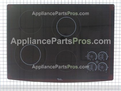 Whirlpool Cooktop W10239867 from AppliancePartsPros.com