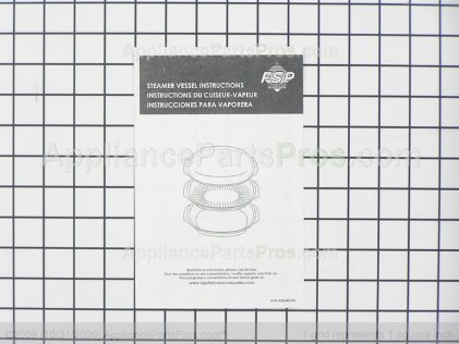 Whirlpool Cookware 8205262A from AppliancePartsPros.com