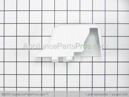 Whirlpool Cover, Lower Hinge (wht) 61003219 from AppliancePartsPros.com