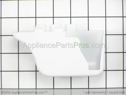 Whirlpool Cover, Lower Hinge (wht) 61003220 from AppliancePartsPros.com