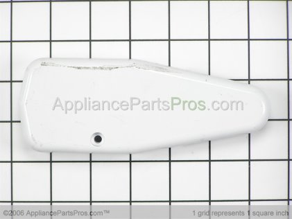 Whirlpool Cover, Upper Hinge (wht) 61004642 from AppliancePartsPros.com