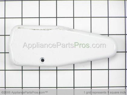 Whirlpool Cover, Upper Hinge (wht) 61004642 from AppliancePartsPros.com