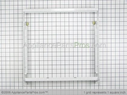 Whirlpool Crisper Cover Frame 2161760 from AppliancePartsPros.com