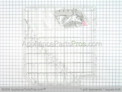 Whirlpool Dishwasher Lower Rack Assembly 8193989 from AppliancePartsPros.com