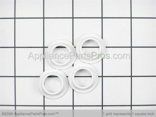 Whirlpool 4172010 Dishwasher Upper Rack Rollers 4 Pack