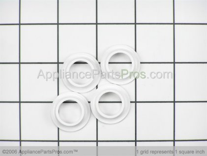 Whirlpool Dishwasher Upper Rack Rollers, 4 Pack 4172010 from AppliancePartsPros.com