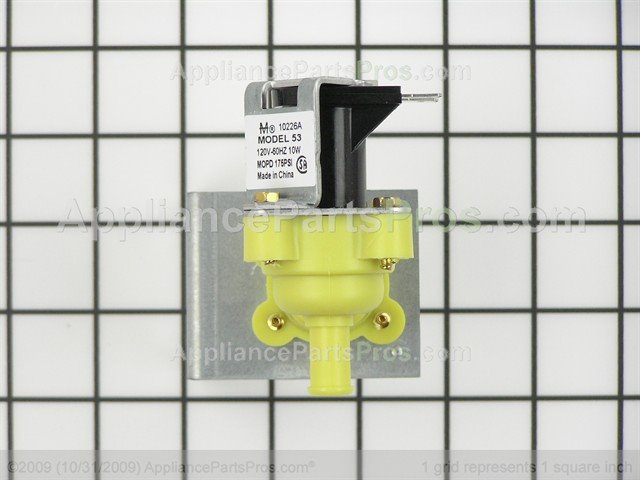 Whirlpool 3374621 dishwasher water inlet valve - Kitchenaid dishwasher fill valve ...
