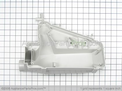 Whirlpool Dispenser Bottom with 4 Clamps 12001558 from AppliancePartsPros.com