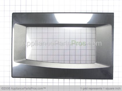 Whirlpool Door Assembly (black) 8205797 from AppliancePartsPros.com