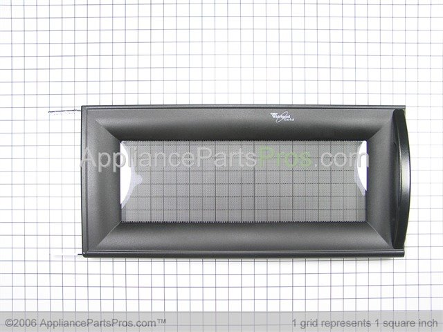 Whirlpool 8205328 Door Complete Black